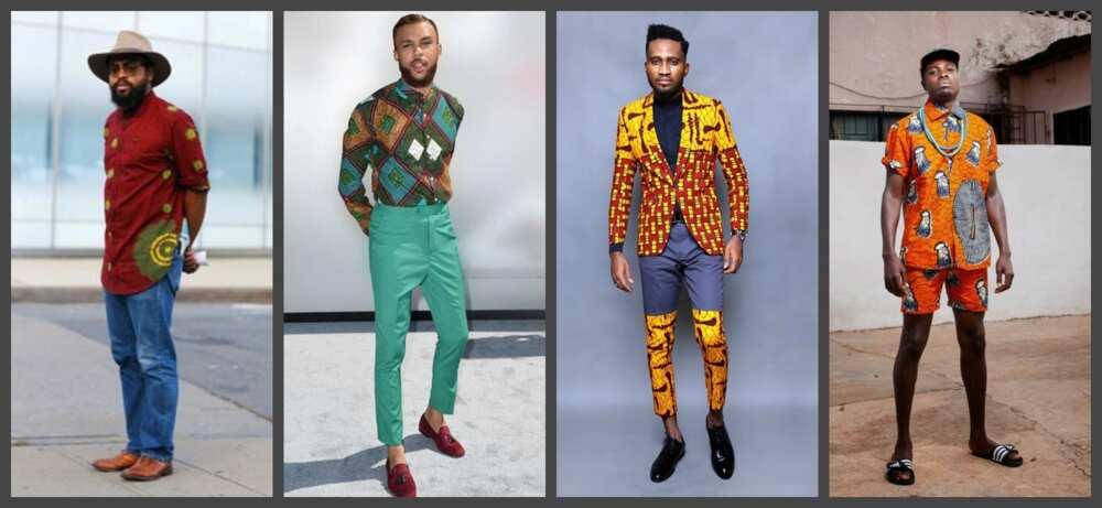 Latest native styles for guys 2017 - Ankara