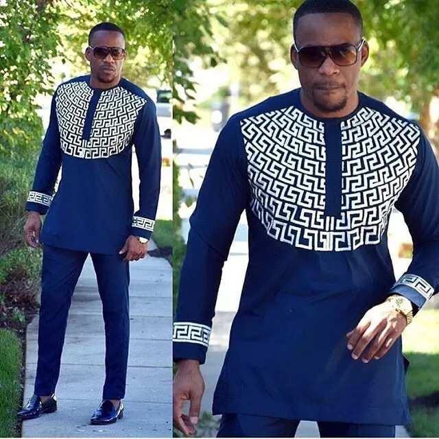 Aso Ebi design with bright pattern