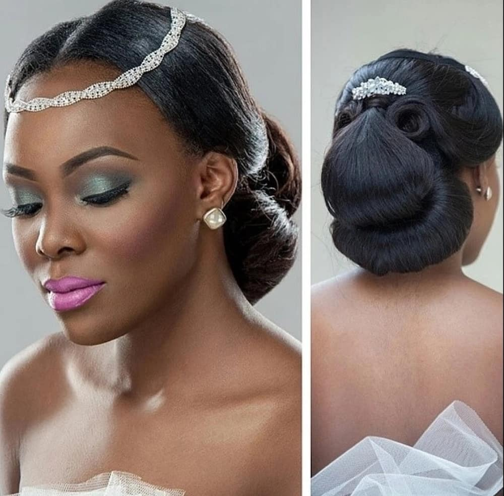 Wedding Hairstyles In Nigeria: Wedding Hairstyles In Nigeria: Best Styles For Brides Legit.ng