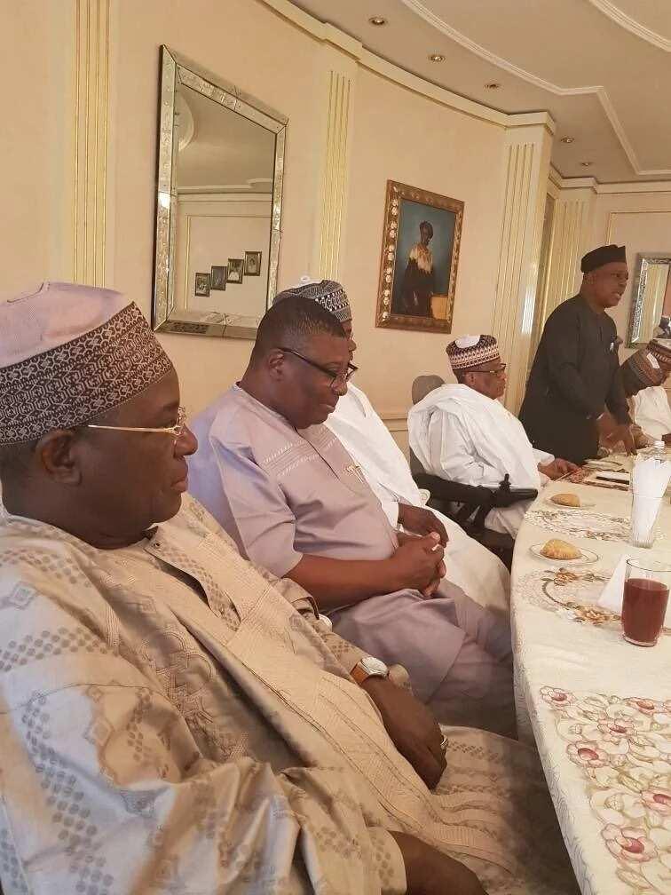 Secondus leads PDP NWC to Babangida's Minna home
