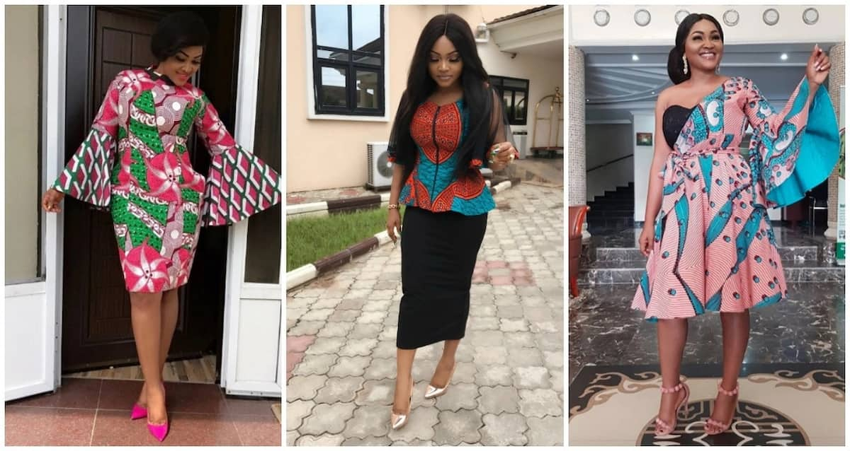 Mercy Aigbe likes everything bright and colorful