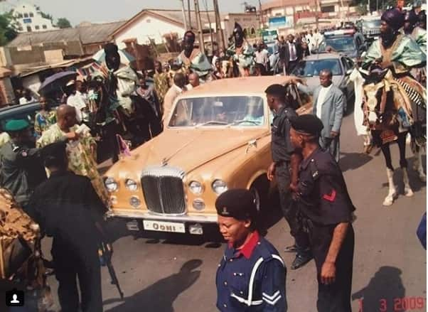 Royal rides! Here the exquisite cars the last 3 Ooni's of Ife drove (photos)