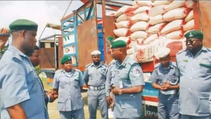Customs confiscates 12 illegally imported cars, other items worth N240m