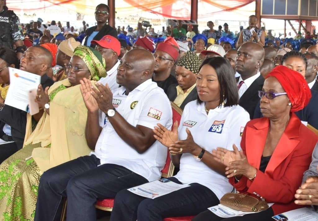 Ambode, government officials and guests at the event. Credit: Lagos Press