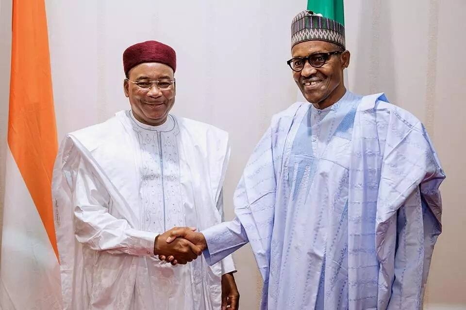 BREAKING: President Buhari attends Nigeria-Niger signing ceremony of MOU on refinery