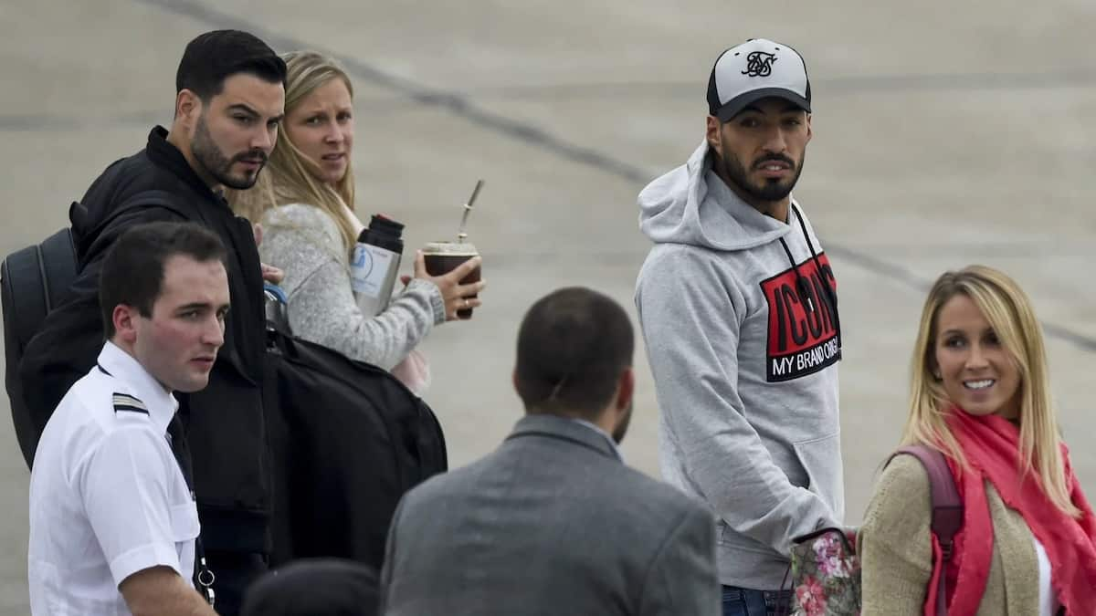 Lionel Messi teammates arrived on his wedding