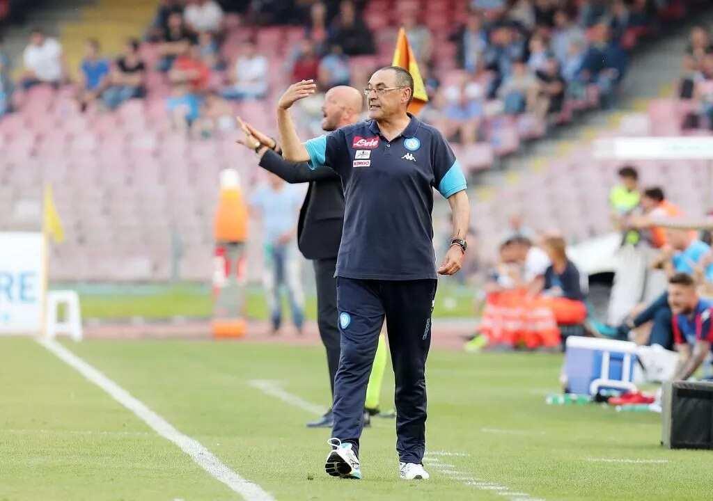Chelsea finalising £50m double swoop deals for Napoli's Sarri and midfielder Jorginho
