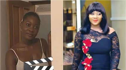 Mercy Johnson's first movie and acting career