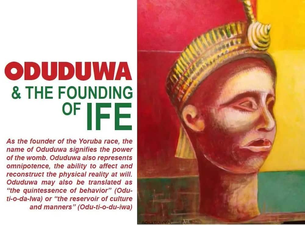 History of Oduduwa
