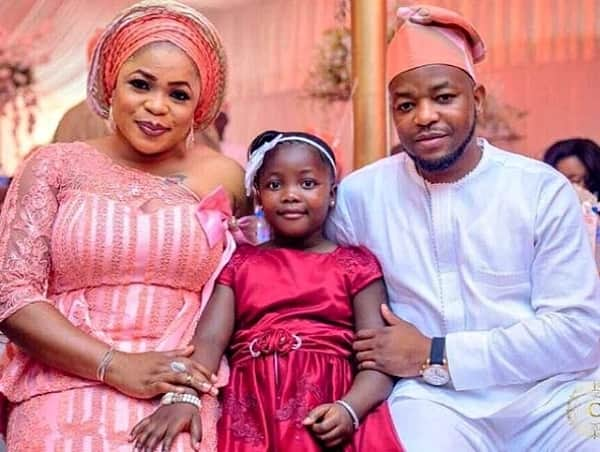 Kemi Afolabi, her husband Wale Adesipe and their daughter