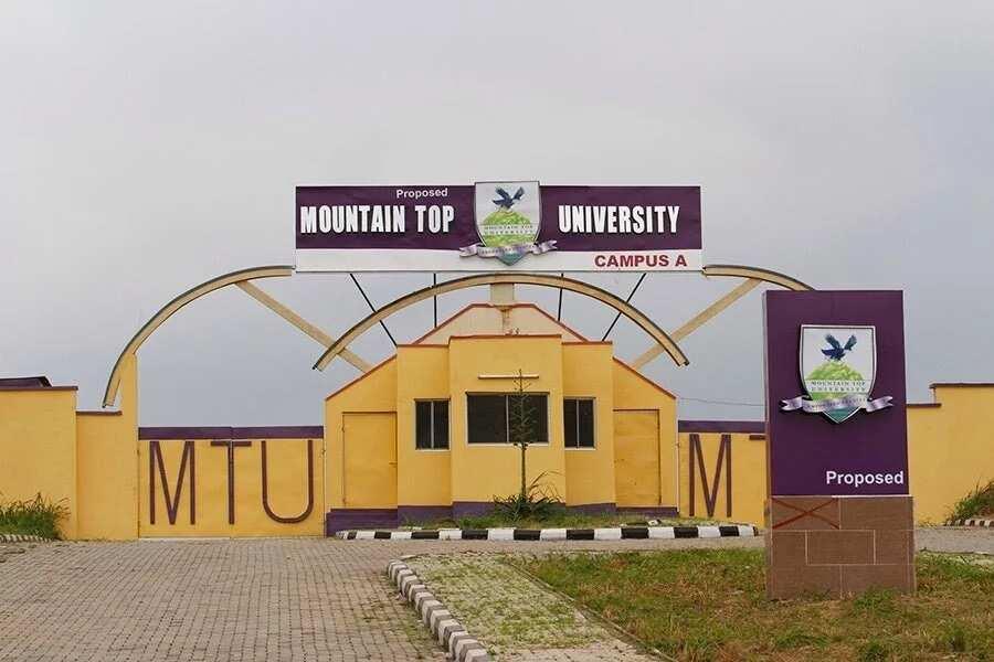 Mountain Top University school fees ▷ Legit.ng