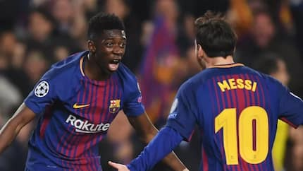 Messi reveals what he wants Barcelona chiefs to do on the future of Ousmane Dembele