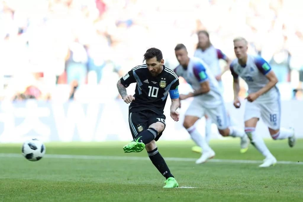 Da yiwuwar Argentina zata kori Messi idan basu ci Najeriya yau ba