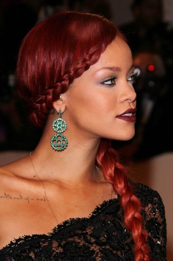Hairstyles with French braid