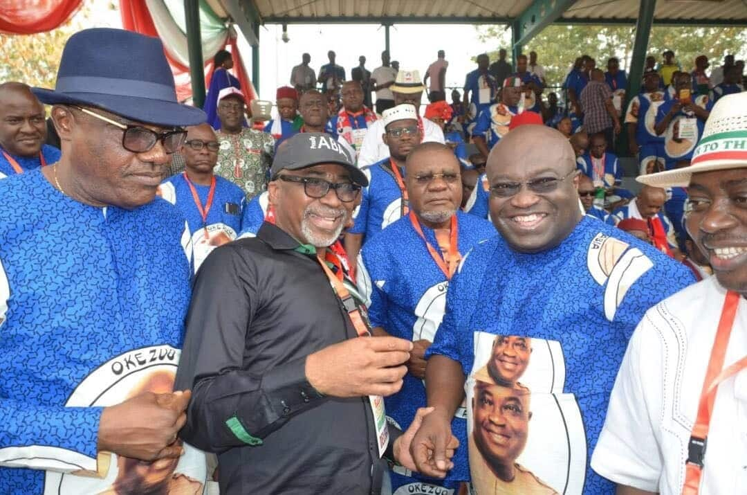 Live Updates of PDP National Convention holding in Port Harcourt. Source: Nairaland