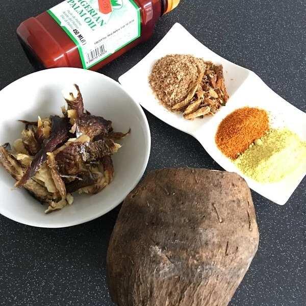 Ikokore Ijebu ingredients