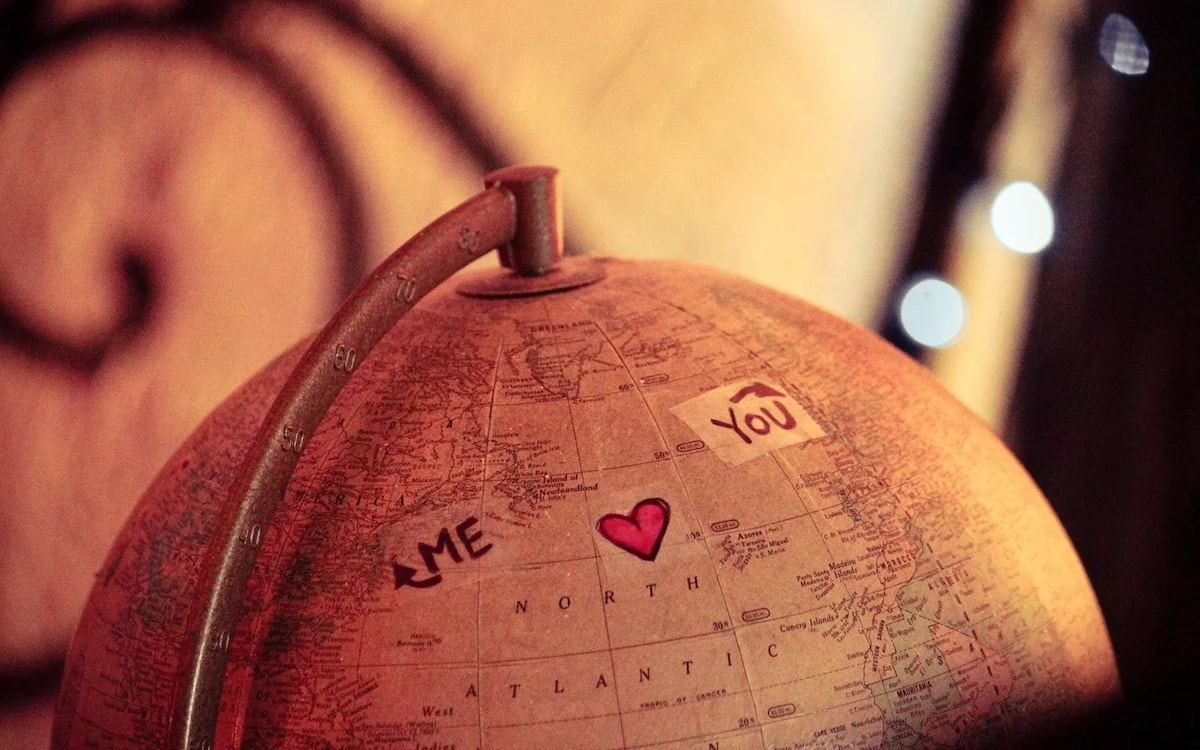 Love messages for him - long distance will be warmed
