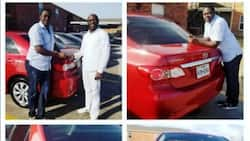 Top actor receives car and monetary gifts from fan (photos)