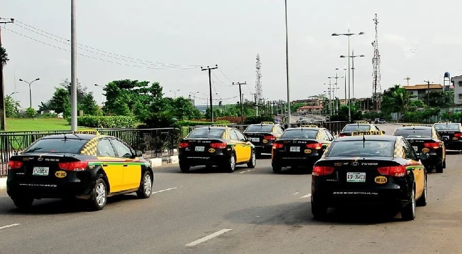 Uber cars in Nigeria