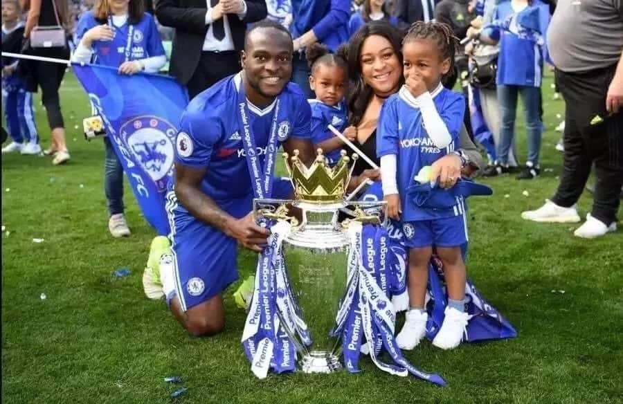 Victor Moses' wife and children ▷ Legit.ng