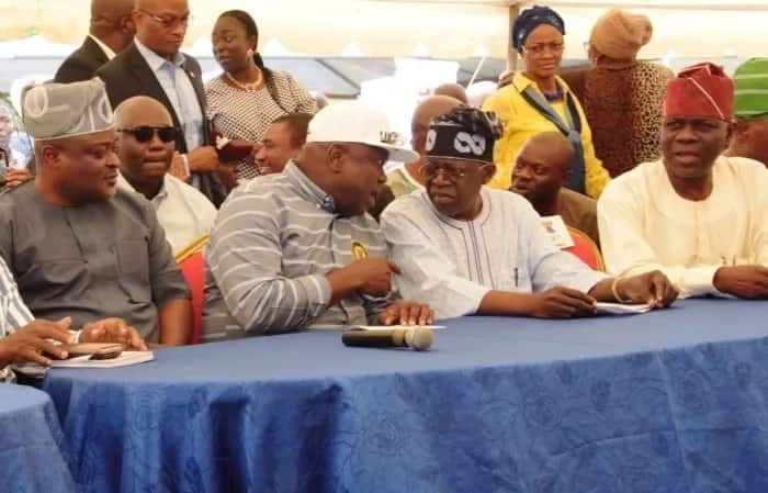 2019: Drama as Ambode absent at Lagos APC mega rally