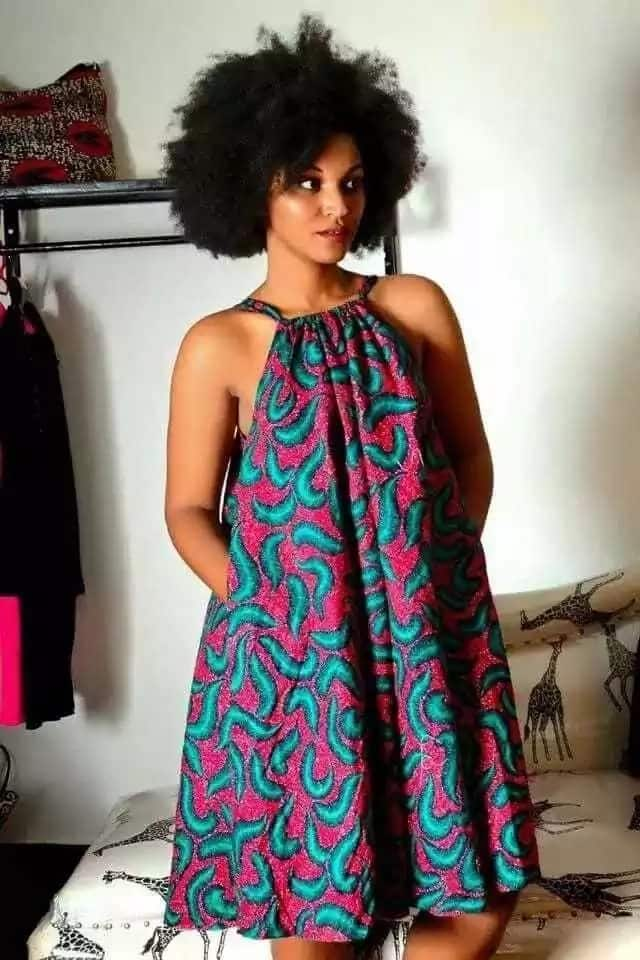 Ankara dress for pregnant ladies - 5