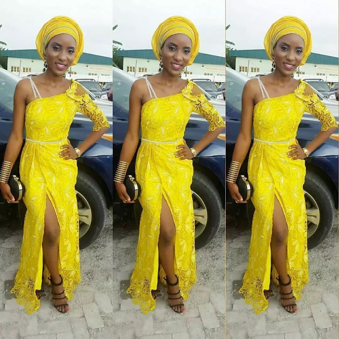 Aso Ebi styles 2017 with gele