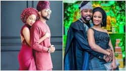 Banky W showers praises on his wife Adesua, calls her the most beautiful woman in Nigerian history
