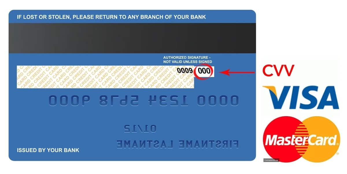 What Is Cvv Number On A Credit Card Legit Ng