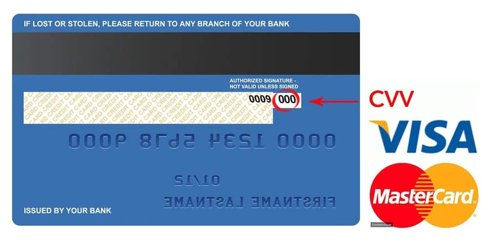 What is CVV number on a credit card? ▷ Legit.ng