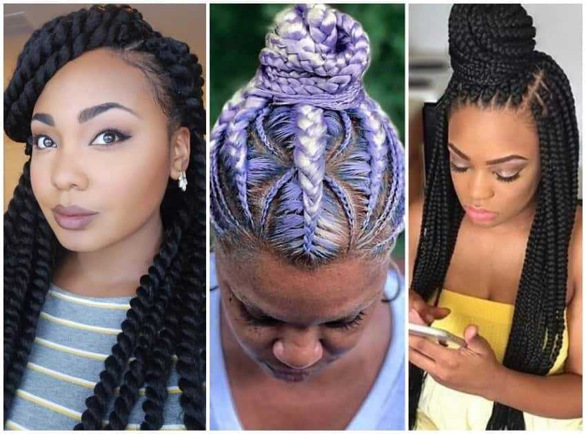 Latest Ghana Weaving Hairstyles In Nigeria Legit