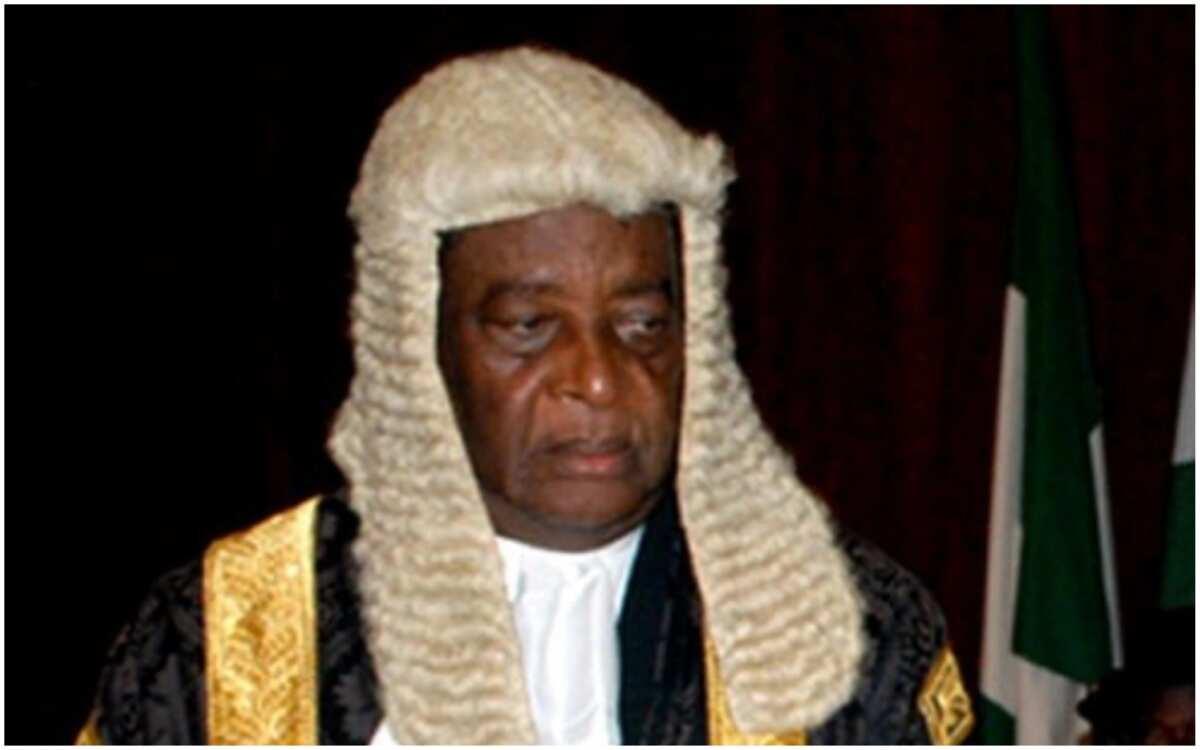Breaking: Ex-Chief Justice of Nigeria Katsina-Alu is dead