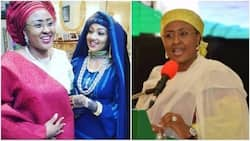 I am lucky to have a strong mother says, Zahra Buhari