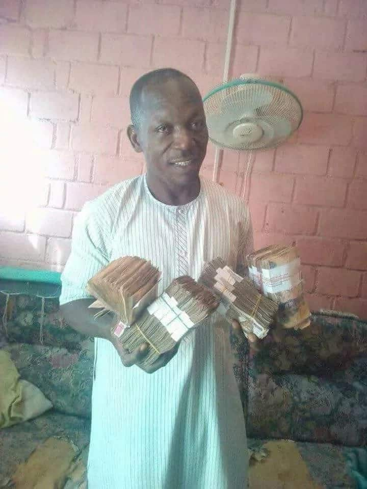 Farmer hails President Buhari after making his first million from selling local rice