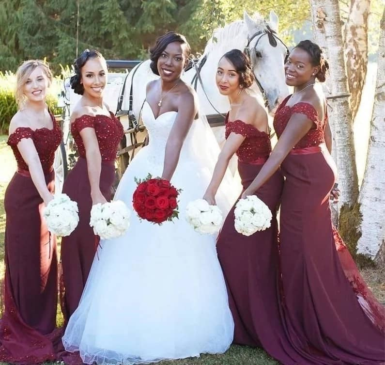 Wedding colours 2017
