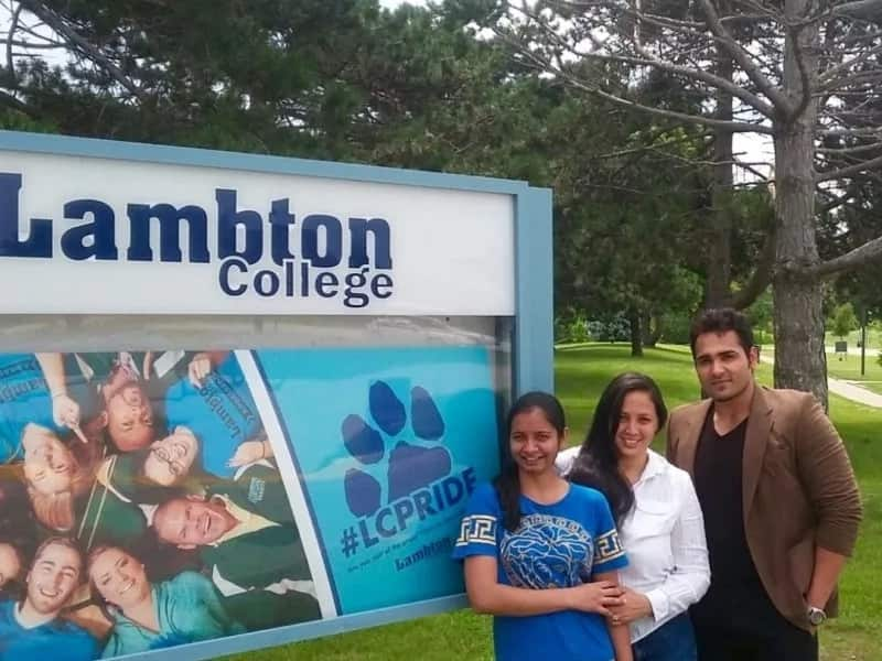 Lambton College fees for international students