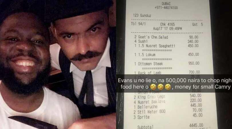 Nusret Dubai Karte.Hushpuppi Spends N500k On Dinner In Popular Dubai Restaurant