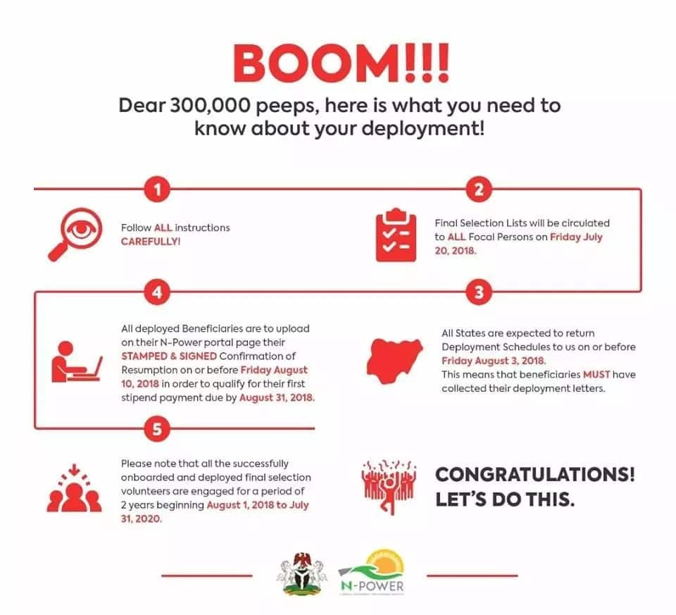 Breaking: Npower finally recruits 300,000 young Nigerians, gives instructions