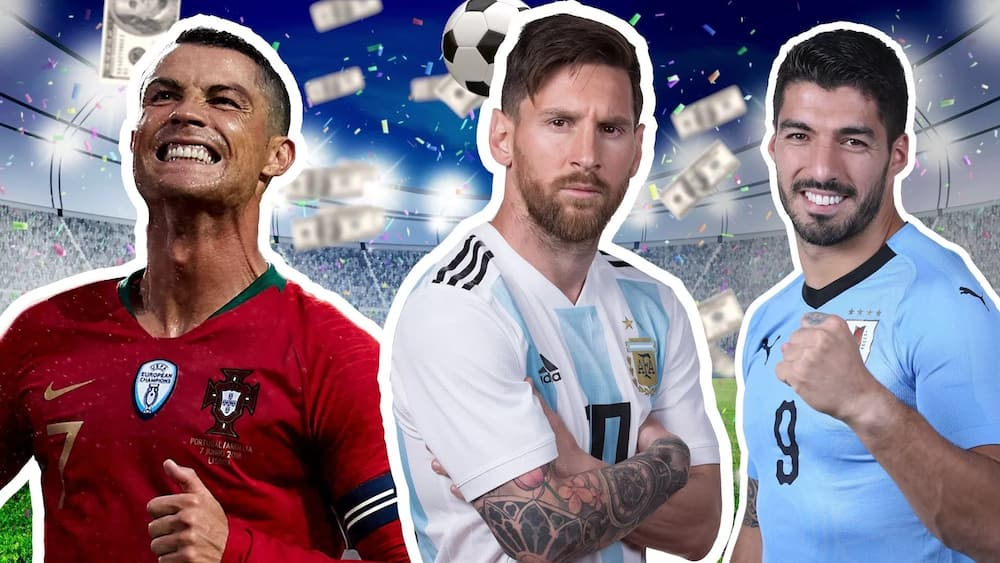 Top 20 richest footballers in the world