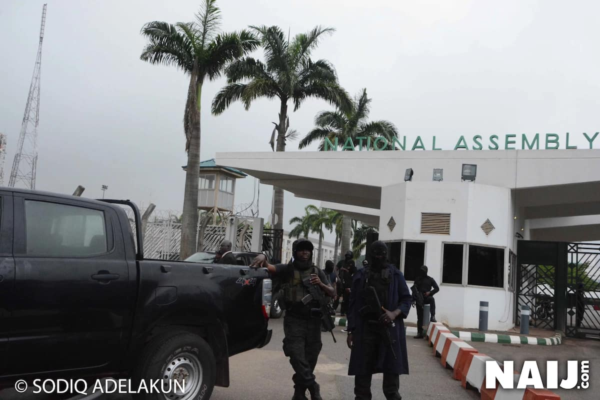 JUST IN: National Assembly Clerk denied entrance into National Assembly