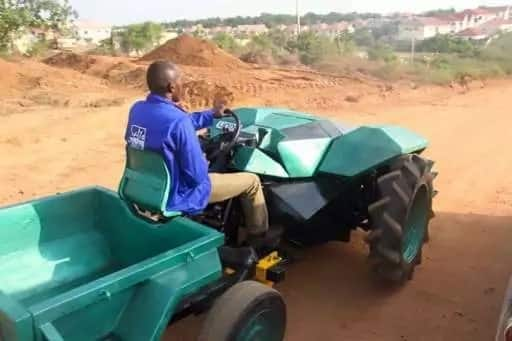 Engineer designs Nigerian-built tractor to boost agriculture