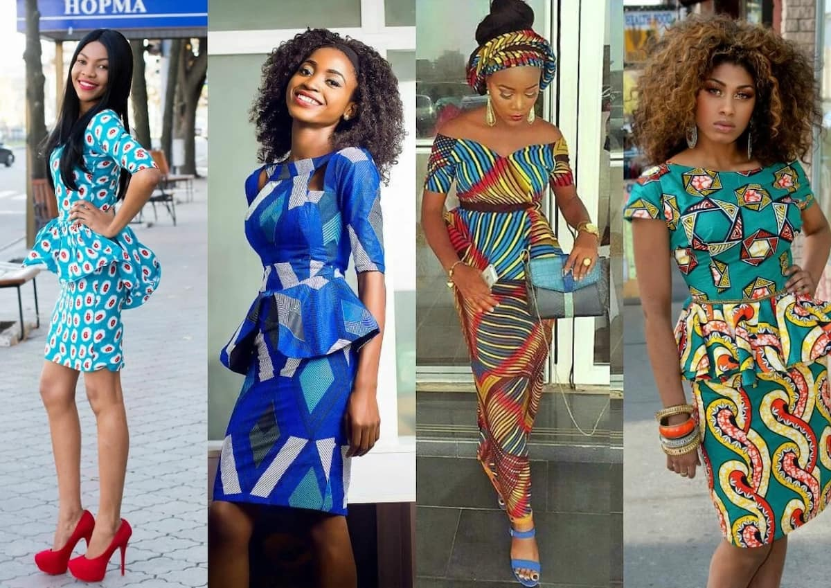 Short And Long Ankara Peplum Dresses 2017 2018 Legitng