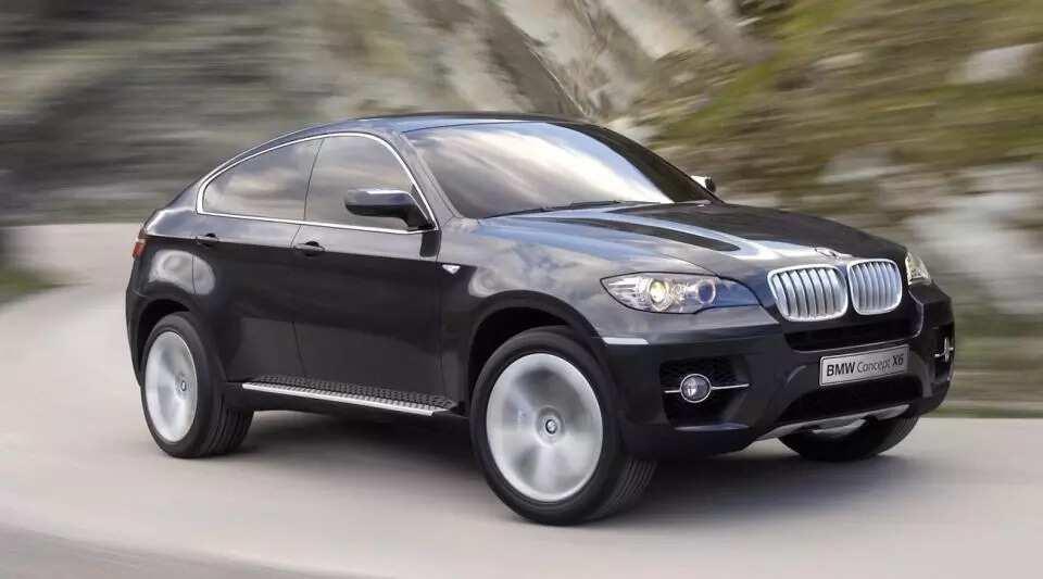 Hazard BMW X6. Photo Credit: HANDOUT