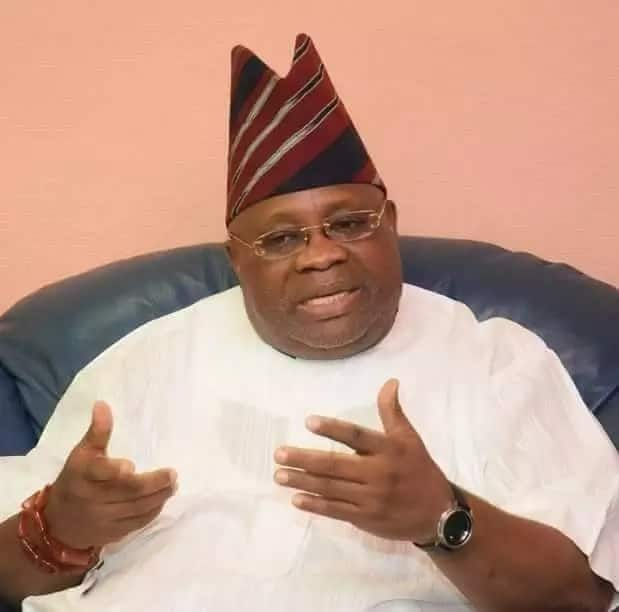 'Yan sanda sun tsare sanatan PDP Ademola Adeleke a Abuja