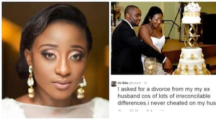 Why did Ini Edo part with her ex-husband after 5 years?