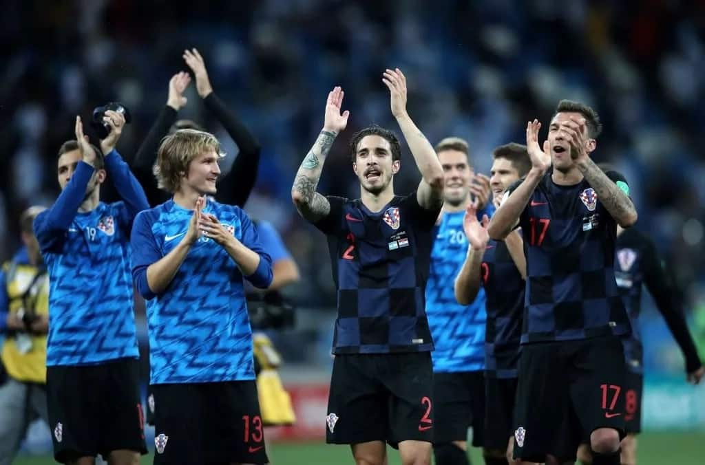 Croatia defender Vrsaljko compares Messi and teammates with 'crying girls' after 3-0 thrashing