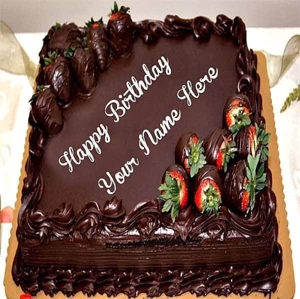 10 Most Beautiful Chocolate Birthday Cake Designs Legit Ng