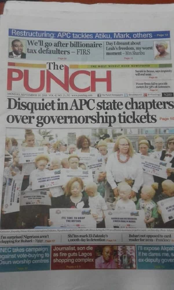 Newspaper review for Monday, September 10