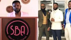 Nigerians frown at Falz's Sweet Boys Association on Twitter, call members male slay queens
