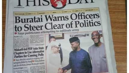 Paper review: NNPC, CBN, 36 others fail to submit budget proposals as N'Assembly forwards budget to Osinbajo